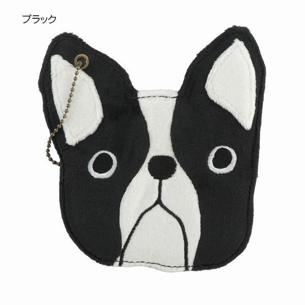 パスケース 定期入れ ファッション小物 レディースファッション ブルドック 犬 イヌ 犬好き ぬいぐるみ ブブリン フレンチブルドッグ
